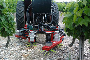 Tonte rang complet + inter-rang viticulture